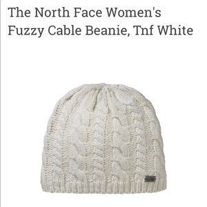 North Face Women's Fuzzy Cable Beanie